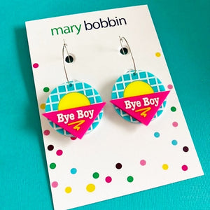 SALE! Bye Boy Earrings