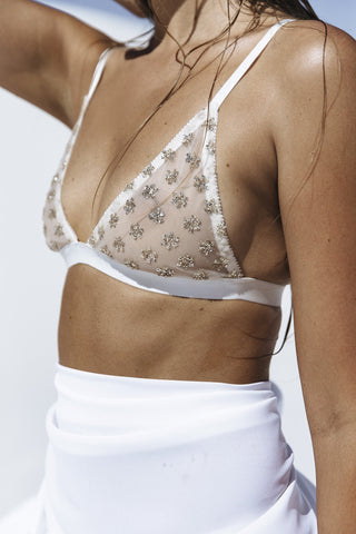 Lemonade Bralette- Kat the Label at Miss Winks Lingerie Boutique