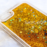 Gold Liquid Glitter iPhone 6/6s Plus Case