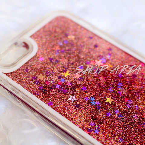 Light Pink Liquid Glitter iPhone 6/6s Case