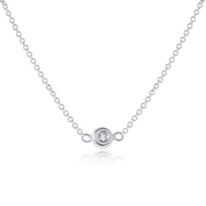 1 Diamond Sheryl Necklace