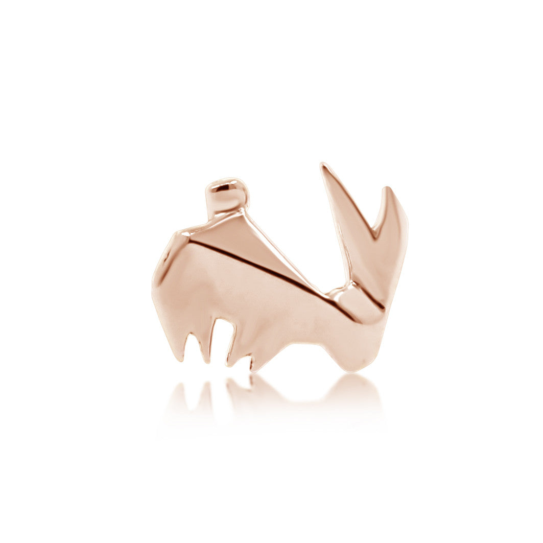 LOP LOP RABBIT EAR STUD