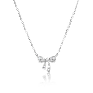 CODEE RIBBON DIAMOND NECKLACE