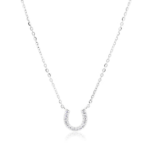 AMABELLE HORSESHOE DIAMOND NECKLACE