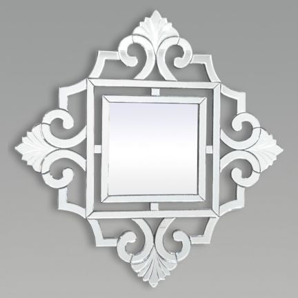 Charming Square Shape Wall Mirror VDJ-808
