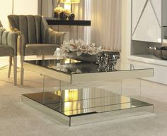 Mirrored Centre Table