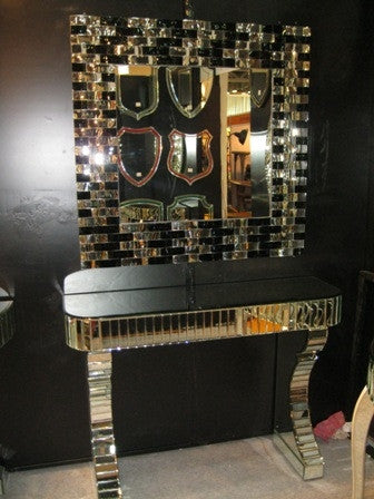 CONSOLE TABLE WITH MIRROR AHL-CWM-103