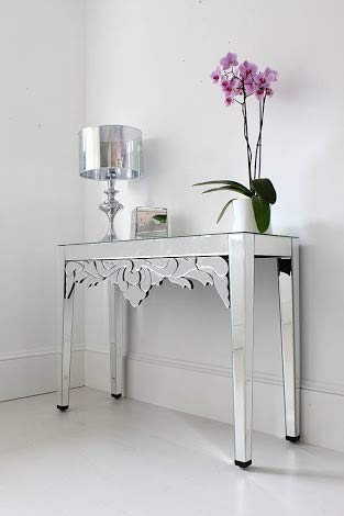 Venetian Mirrored Console Table VDMF-422