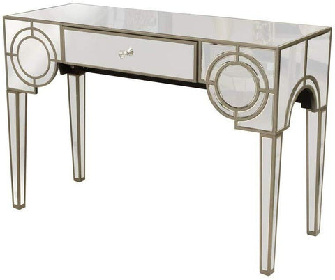 Mirrored Console Table with Drawer VDMF-426