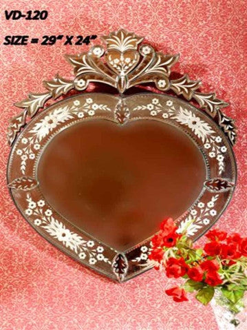 Heart Shape Wall Mirror VD-120