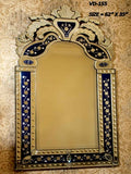 Royal Blue Venetian Mirror VD-155