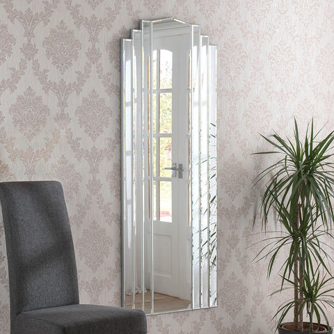 Full Length Art Deco Wall Mirror ADWM-01