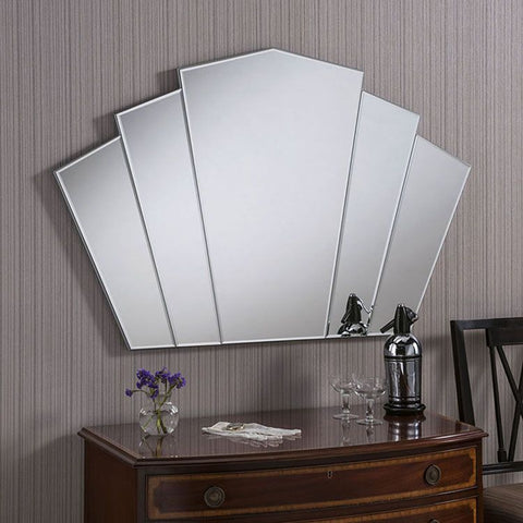 Art Deco Fan Wall Mirror ADWM-03
