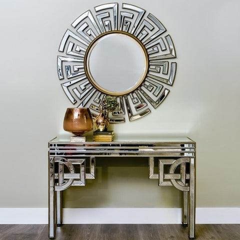 Claridge Console With Mirror Set CWM-621