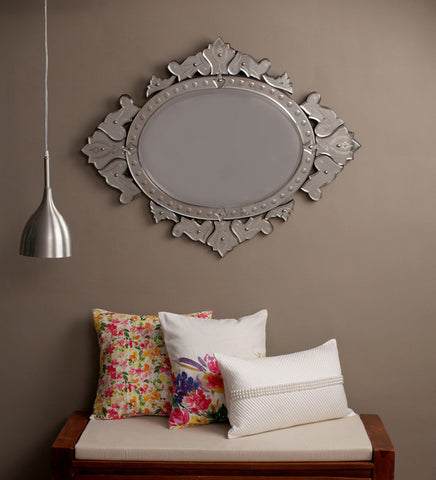 Curved Crown Wall Mirror VDS-68