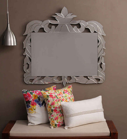 Lotus Crown Wall Mirror VDS-75