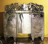 Suave Mirrored Grand Cabinet, 2 Drawer VDMF403