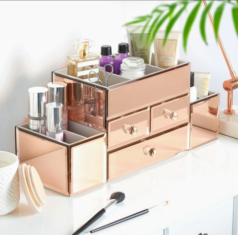 Rose Gold Jewellery Box