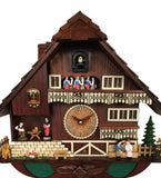 Romantic Animated Couples Cuckoo Clock