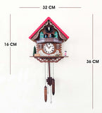 Musician Animated Fancy Cuckoo Clock