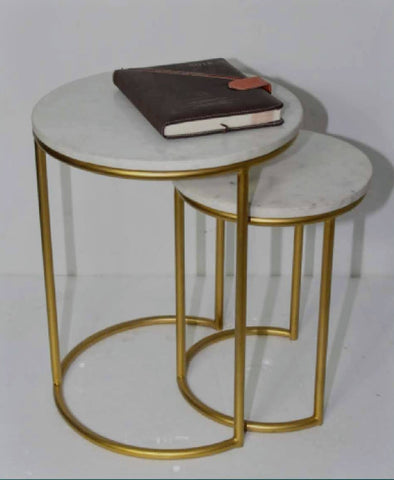 Side Tables Set of 2