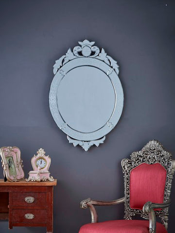 Oval Crown Venetian Mirror VD-709