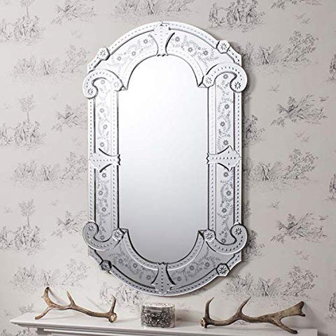 Venetian Mirror VD-772 Size - 48 x 30 Inches