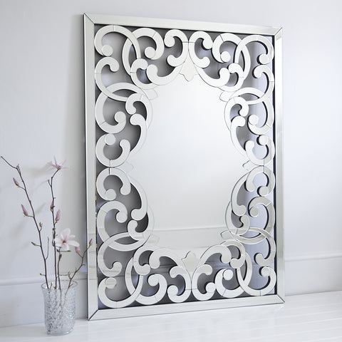 Venetian Mirror VD-780 Size - 55 x 40 Inches
