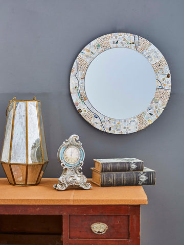 Decorative Round Framed Wall Mirror VD-GM-130