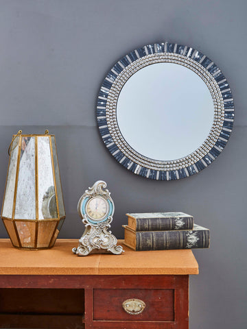 Decorative Round Framed Wall Mirror VD-GM-132