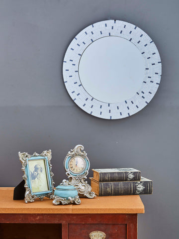 Decorative Round Framed Wall Mirror VD-GM-133