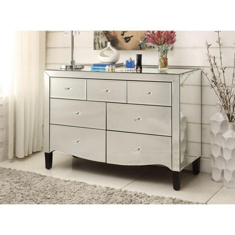 Mirrored Chest, Dressing Table, 7 Drawer VDHZ1010