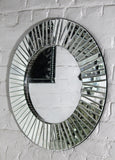 Round Living Room Mirror Contemporary Style VD-PI-648