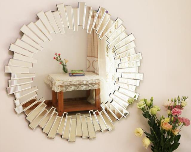 Ava Wall Mirror Vdr 470 Venetian Design The Boutique Factory 100 Heart Made Products