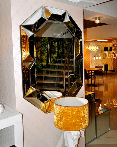 Abney Art Deco Wall Mirror VDR-505