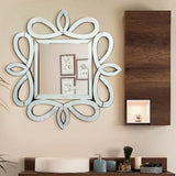 The Kensington Frame Square Wall Decorative Mirror VDR-534
