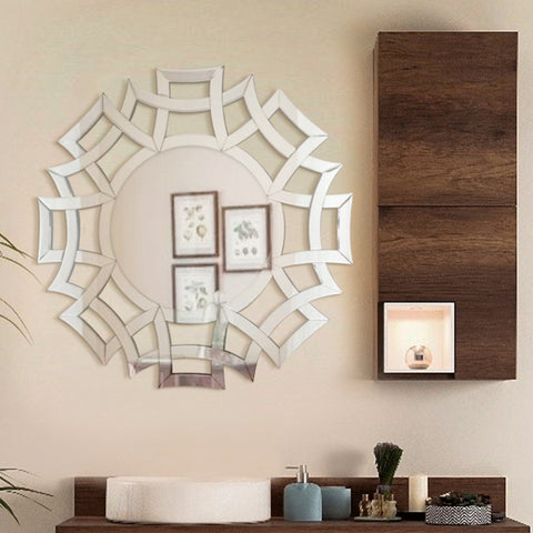 The FAR East - Round Wall Mirror for Interior Design VDR-536