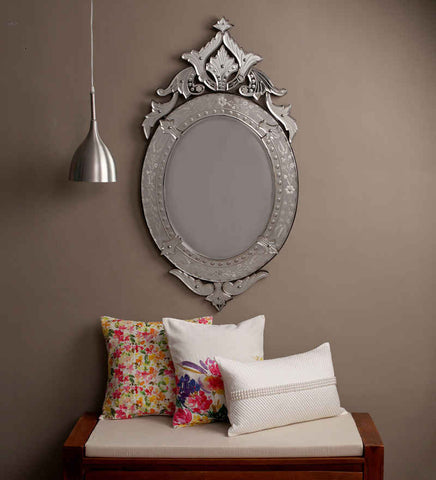 Oval Crown Wall Mirror VDS-72