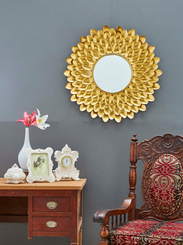 Leaf Design Wall Mirror VDSM-13