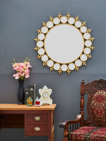 Medallion Accent Wall Mirror VDSM-40