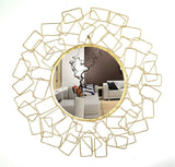Ornate Geometric Accent Wall Mirror VDSM-50