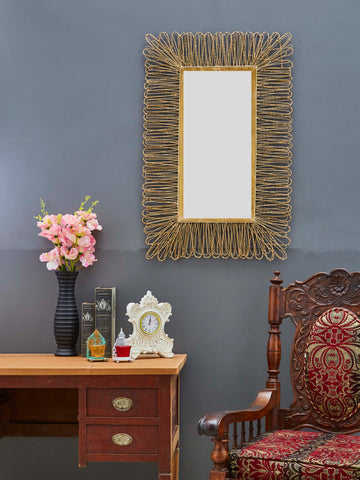 Metal Frame Accent Wall Mirror VDSM-65