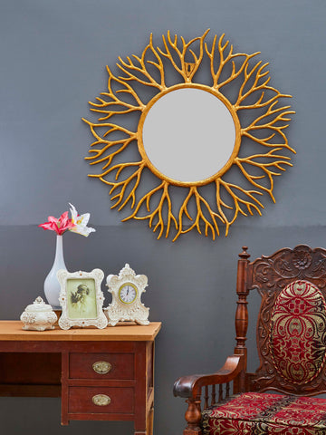 Metal Frame Accent Wall Mirror VDSM-75