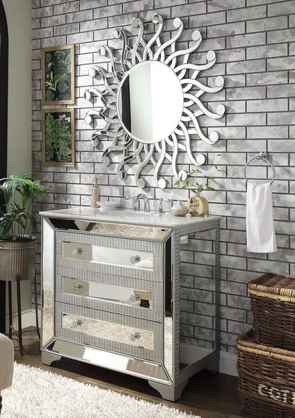 Sun Shape Round Wall Mirror Vdr 514 Venetian Design The Boutique Factory 100 Heart Made Products