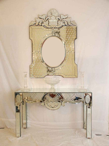 CONSOLE TABLE WITH MIRROR CWM-141/146