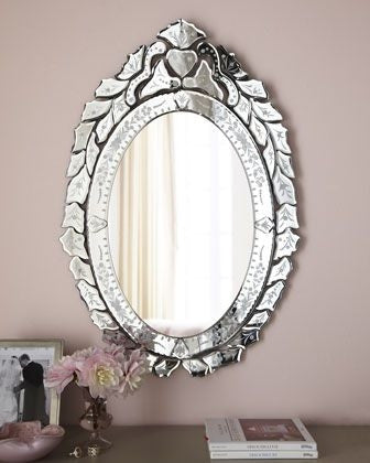Oval Venetian Wash Basin Mirror VD-PI-661