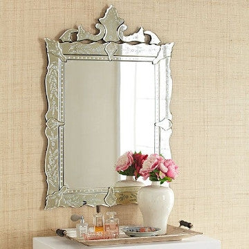Rectangular Venetian Mirror for Wash Basin VD-PI-660