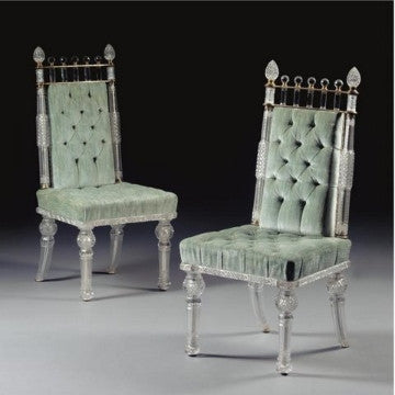 Crystal Dining Chairs