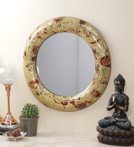 Crackle Wall Mirror VDM-05