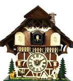 Sumptuous Swiss Farm House With Wood Pile Cuckoo Clock